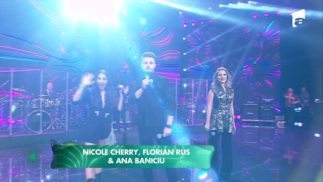 Ana Baniciu, Nicole Cherry și Florian Rus la Marea Unire ZU 2020. Frumoșii artiști au impresionat prin voce și ținute