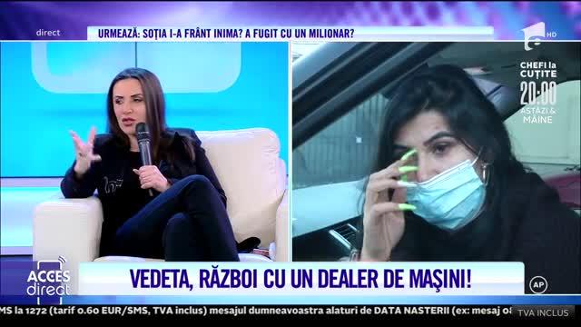 Ramona de la Clejani, țeapă de 15.000 de euro? Artista ar fi primit şi ameninţări de la vânzător