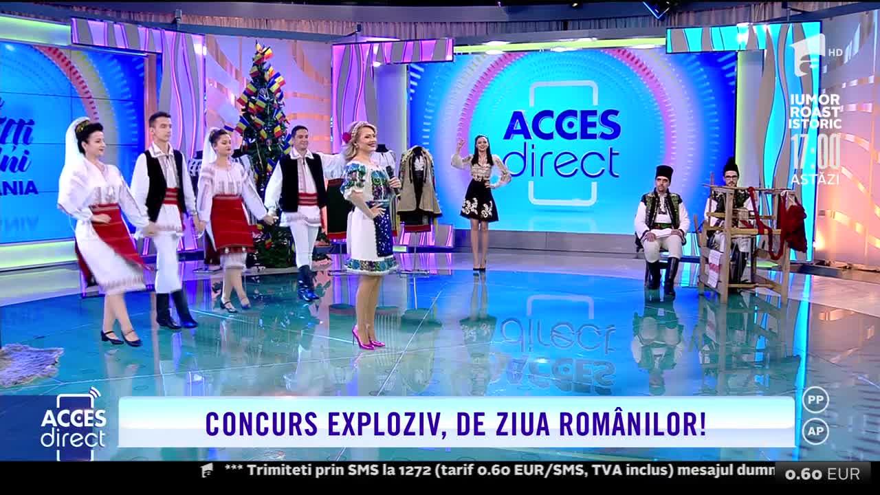 Mirela Vaida cântă live în zi de sărbătoare, la Acces Direct