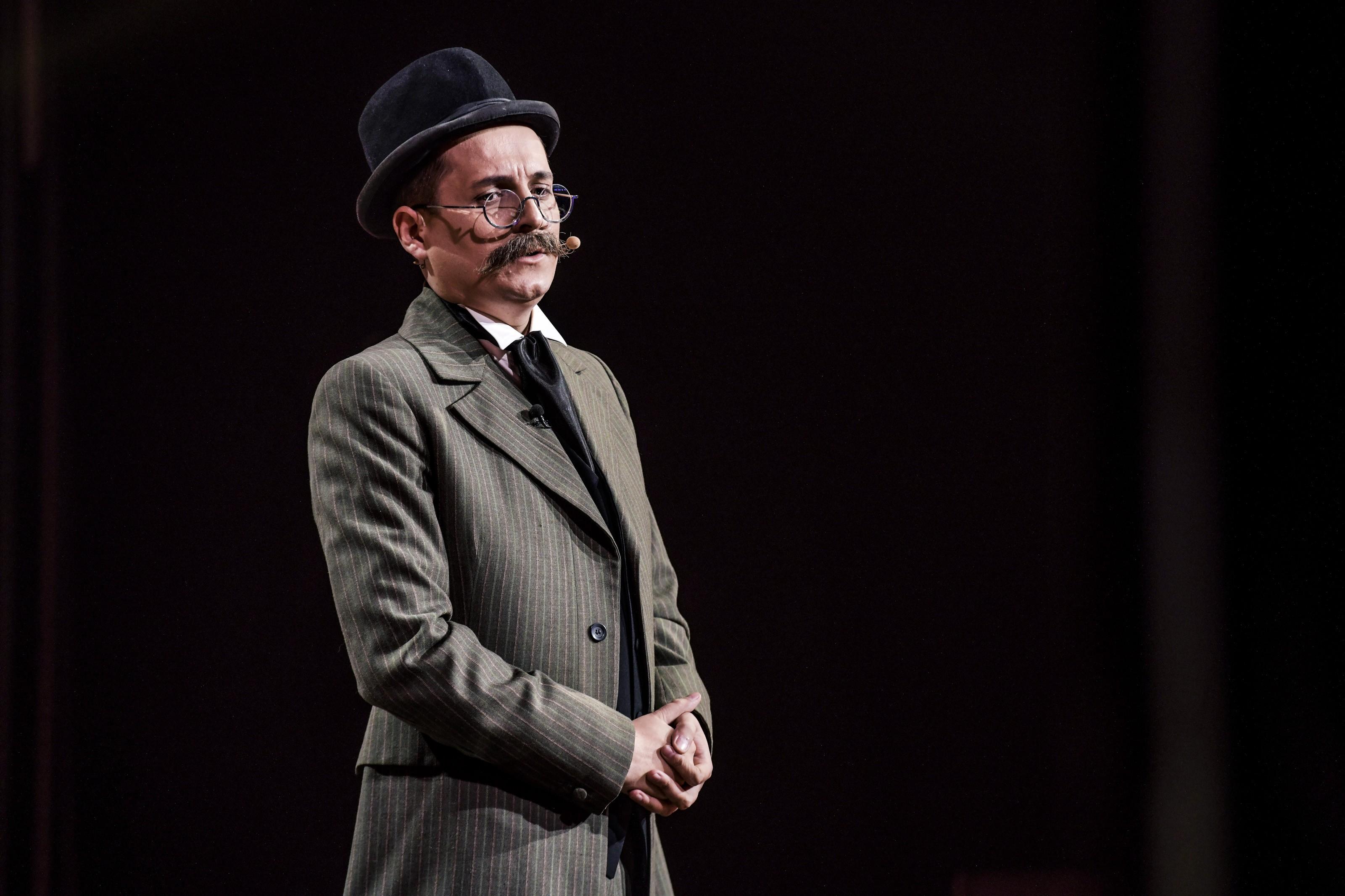 Ion Luca Caragiale, umor și istorie la iUmor: M-au pus pe bancnota de o sută de lei pentru că am un lipici teribil la dedicații!