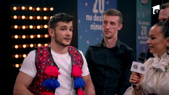 Vlad Drăgulin și Vlăduța Lupău, duet în culisele de la Marea Unire ZU 2020