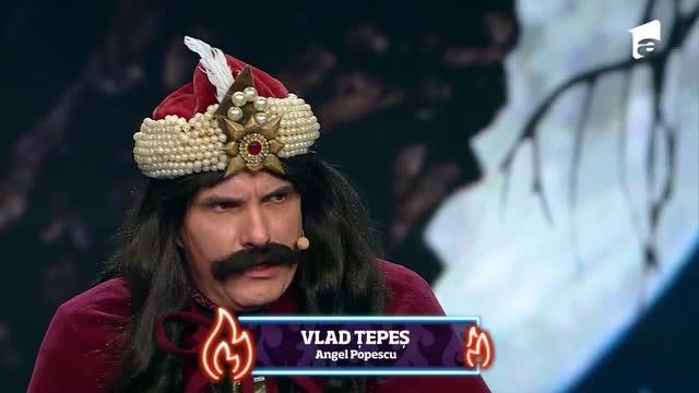 iUmor 1 decembrie 2020 Roast Istoric. Vlad Țepeș urcă pe scena iUmor pentru un roast plin de țepe
