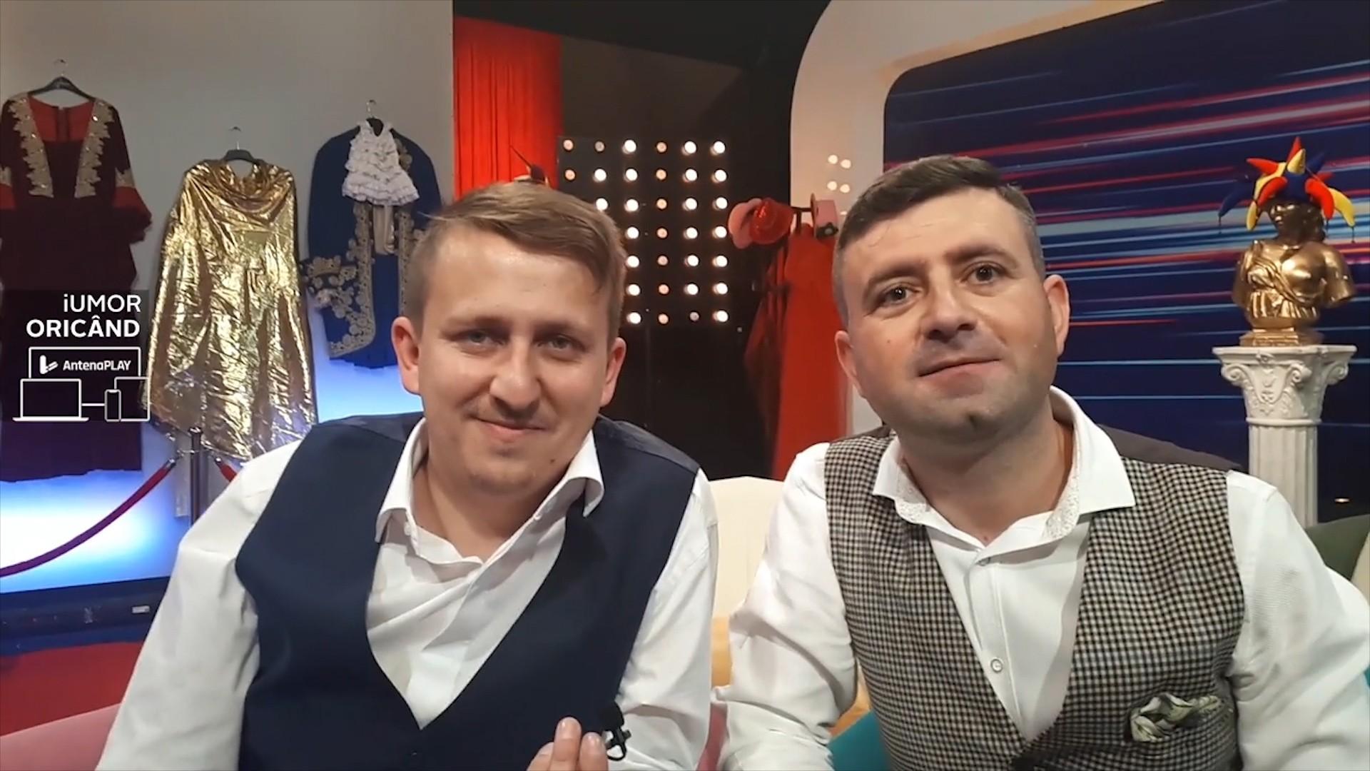 Interviu cu Hari Gromoşteanu şi Marius Costea, la iUmor