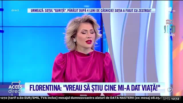 Abandonată și uitată? Florentina își caută mama: Nu ţin minte vreo mângâiere din partea ei