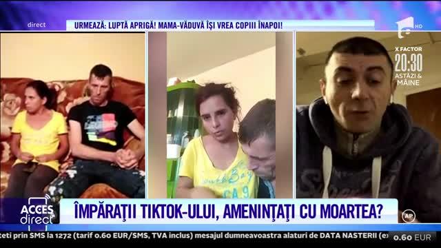 Cei mai virali soţi de pe TikTok, ameninţaţi cu moartea!