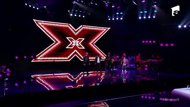 X Factor 3 decembrie 2020. 4Sure, energici și uniți pe scenă în Bootcamp. Florin Ristei s-a ridicat de pe scaun ca să-i susțină