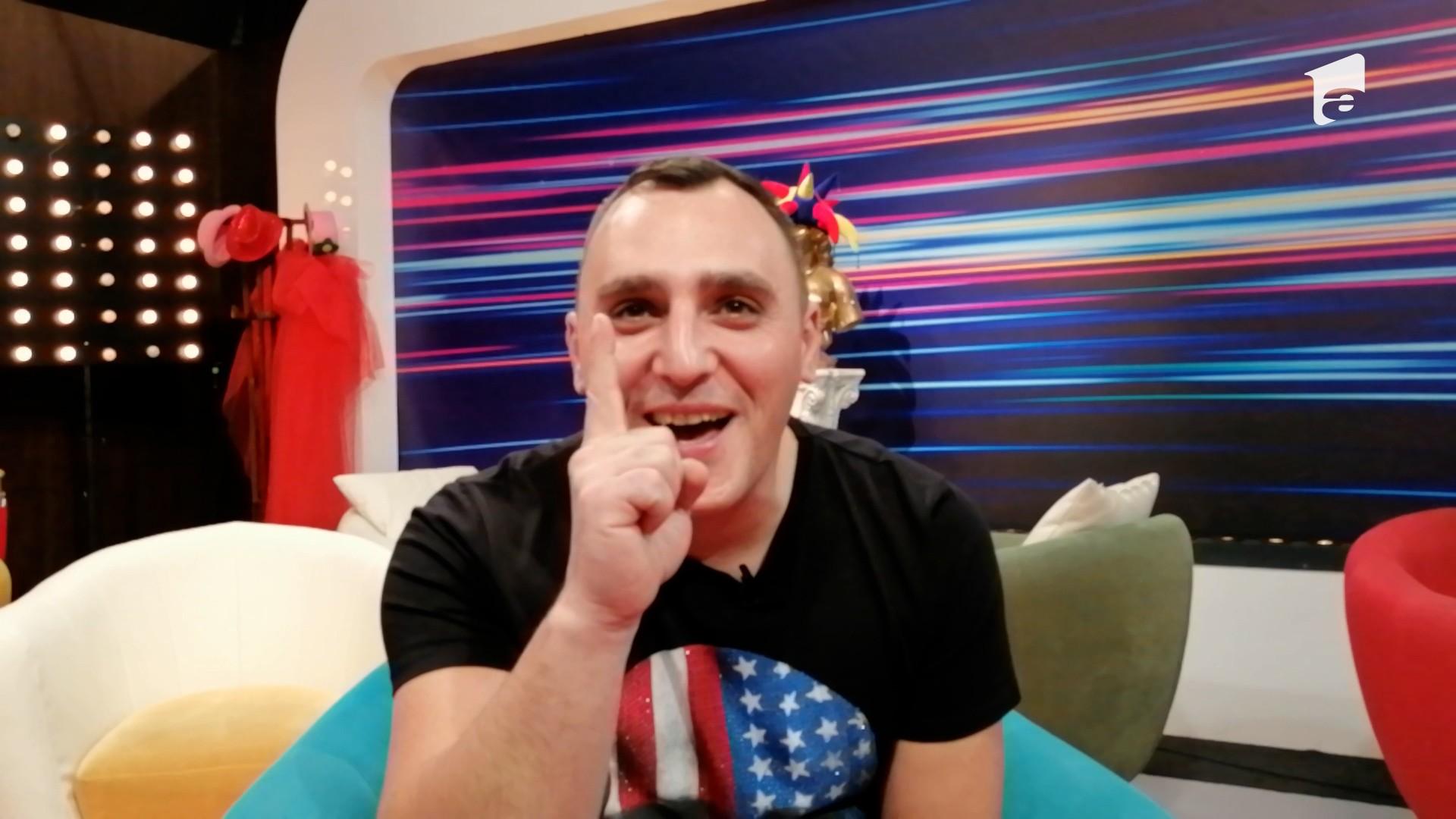 Interviu la iUmor cu semifinalistul Dan Cârstea