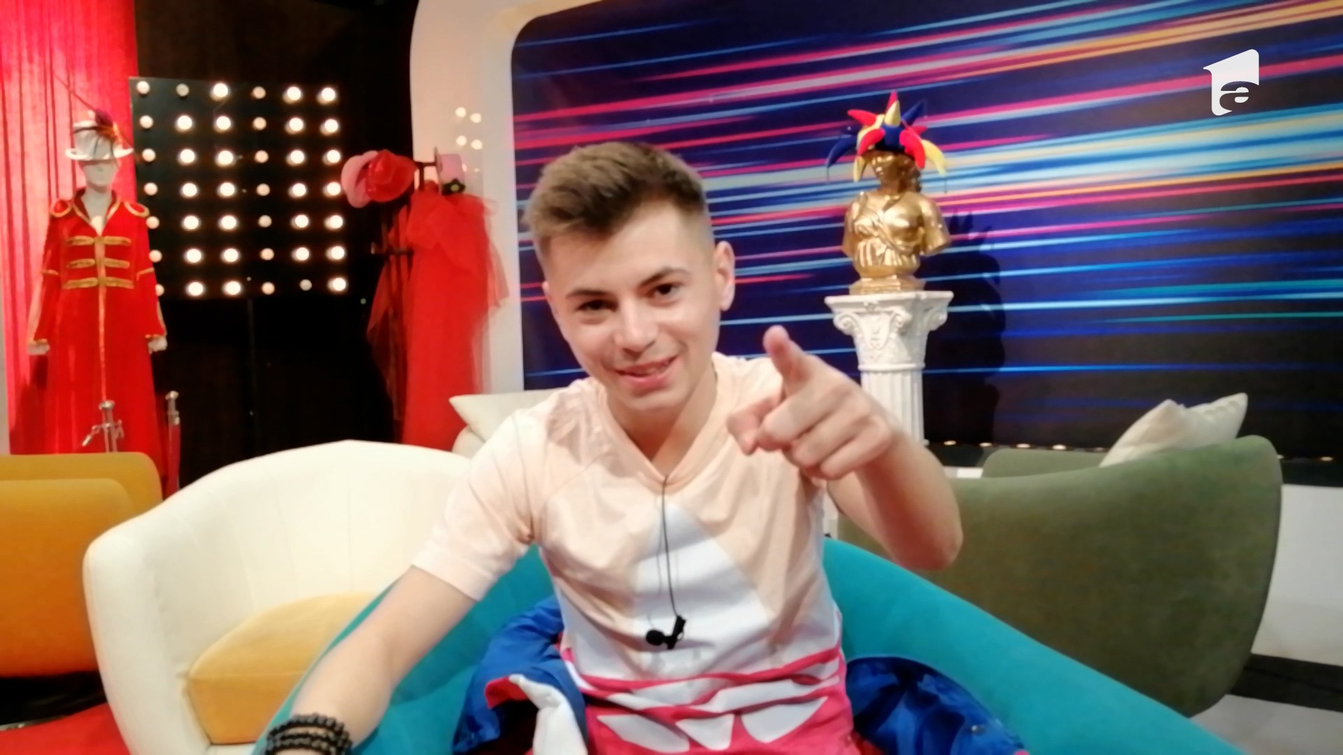 Concurentul Mihai Caragea, interviu la iUmor