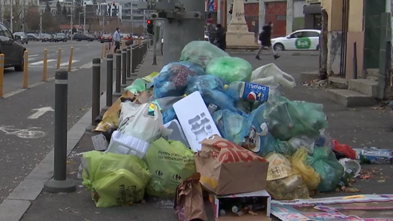 pierde punga de gunoi de gunoi
