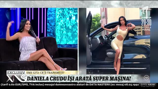 Daniela Crudu își arată super mașina: E foarte mișto, e cu sclipici!