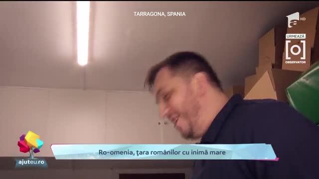 Ajut Eu! Ro-omenia, țara românilor cu inimă mare