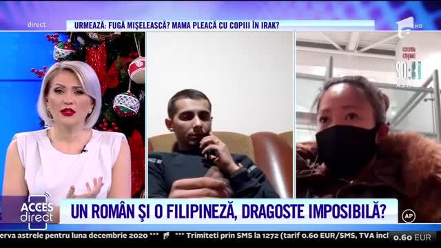 Despărțiți de autorități? Un român și o filipineză, dragoste blocată în zona de tranzit