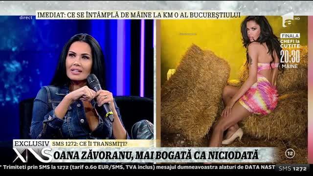Oana Zăvoranu, mai bogată ca niciodată