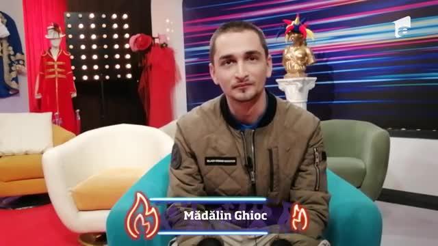 Mădălin Ghioc, interviu la iUmor