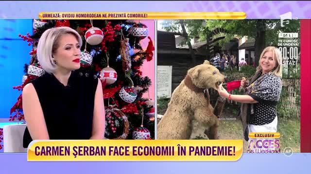 Carmen Șerban face economii în pandemie! Artista nu mai aruncă uşor cu banii