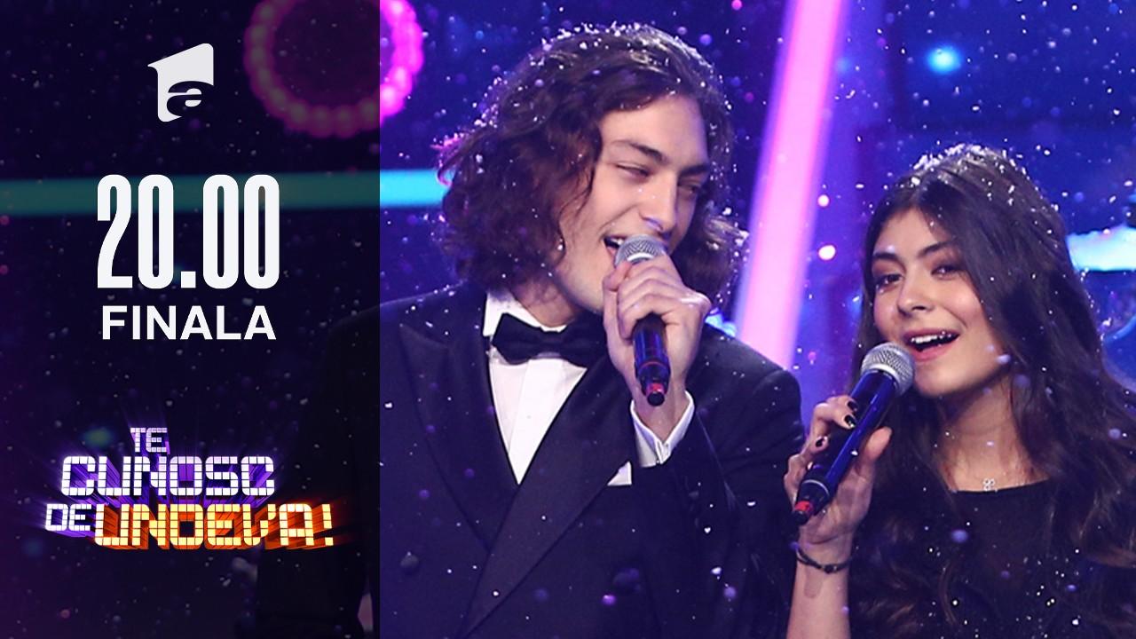 Mayra și Toto Dumitrescu cântă colinde de Crăciun, în Finala Te cunosc de undeva!