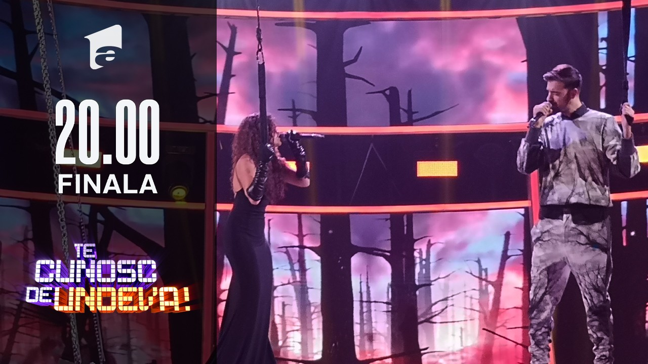"""Bella Santiago și Liviu Teodorescu se transformă în Kelly Rowland & Zeek Power- """"Earth Song"""", la Te cunosc de undeva!"""