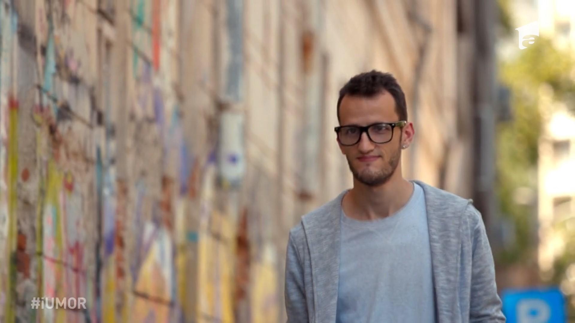 Povestea câştigătorului de la iUmor: Andrei Ungureanu aka Omul cu Tourette
