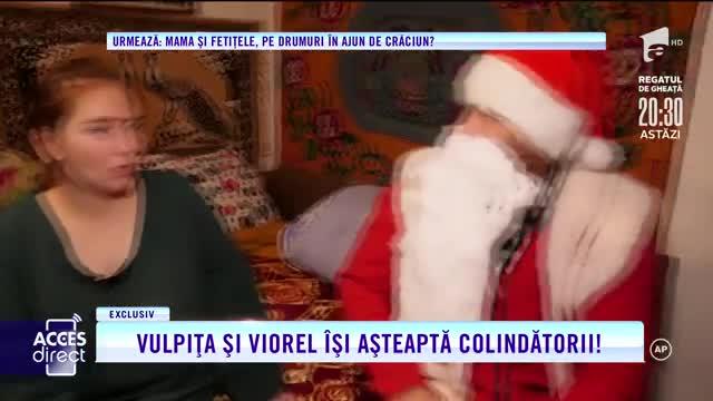 Crăciun de poveste pentru Vulpița și Viorel. Soții Stegaru împodobesc bradul