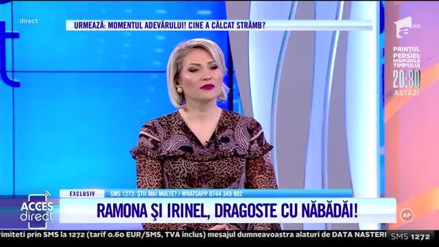 Ramona și Irinel, dragoste cu năbădăi: Trăiesc cu tine, dar plăcerile mele mi le fac cu cine vreau eu!