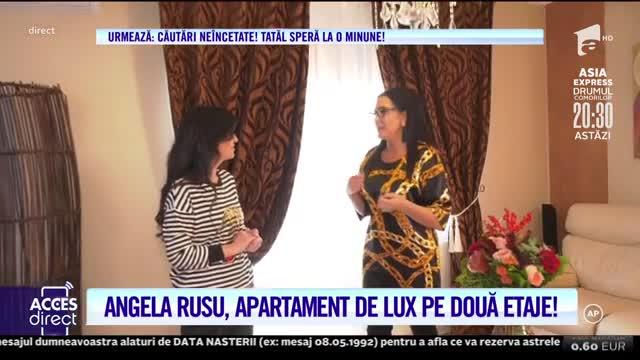Angela Rusu, faimoasa artistă, are un apartament de lux pe două etaje