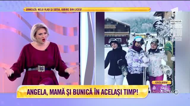 Angela Rusu va fi mamă şi bunică în acelaşi timp!