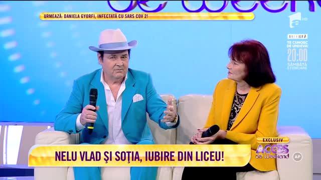 Nelu Vlad şi soţia sa, Maria, în direct, la Acces de Weekend!