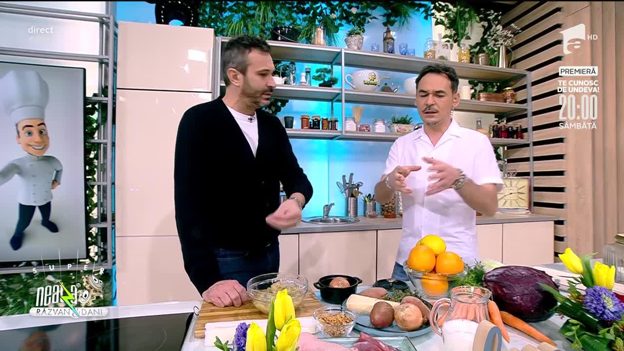 Piept de rață cu sos de portocale, rețeta lui Chef Nicolai Tand