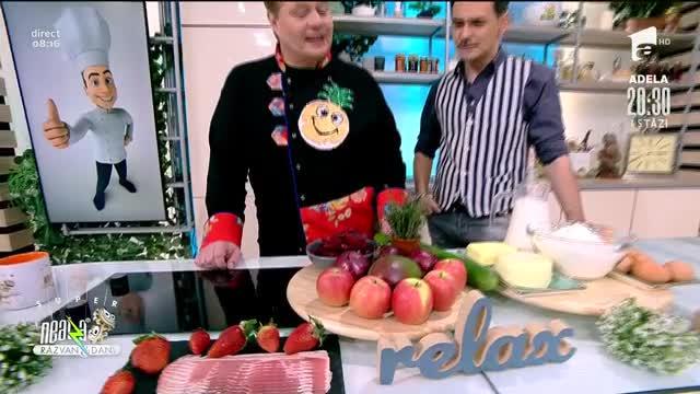 Rulada cu noroc, rețeta lui Vlăduț de la Neatza cu Răzvan şi Dani