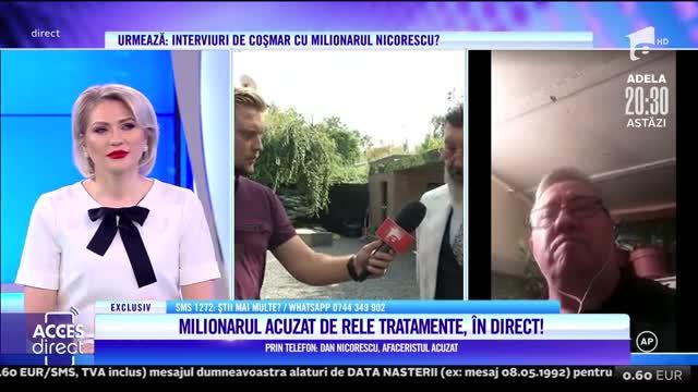 Un alt fost angajat îl pune la zid pe celebrul afacerist, Dan Nicorescu! Managerul stă faţă în faţă cu foştii angajaţi