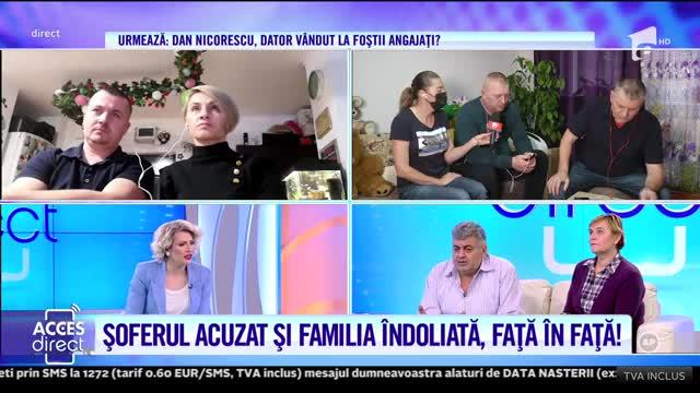 Șoferul Sorin, acuzat de moartea Angelei, stă față în față cu familia îndoliată
