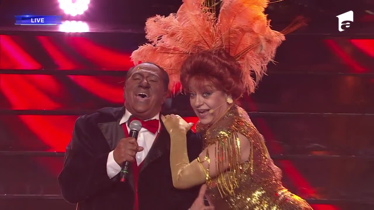 """Adriana Trandafir și Romică Ţociu se transformă în Louis Armstrong & Barbra Streisand - """"Hello, Dolly"""", la Te cunosc de undeva!"""