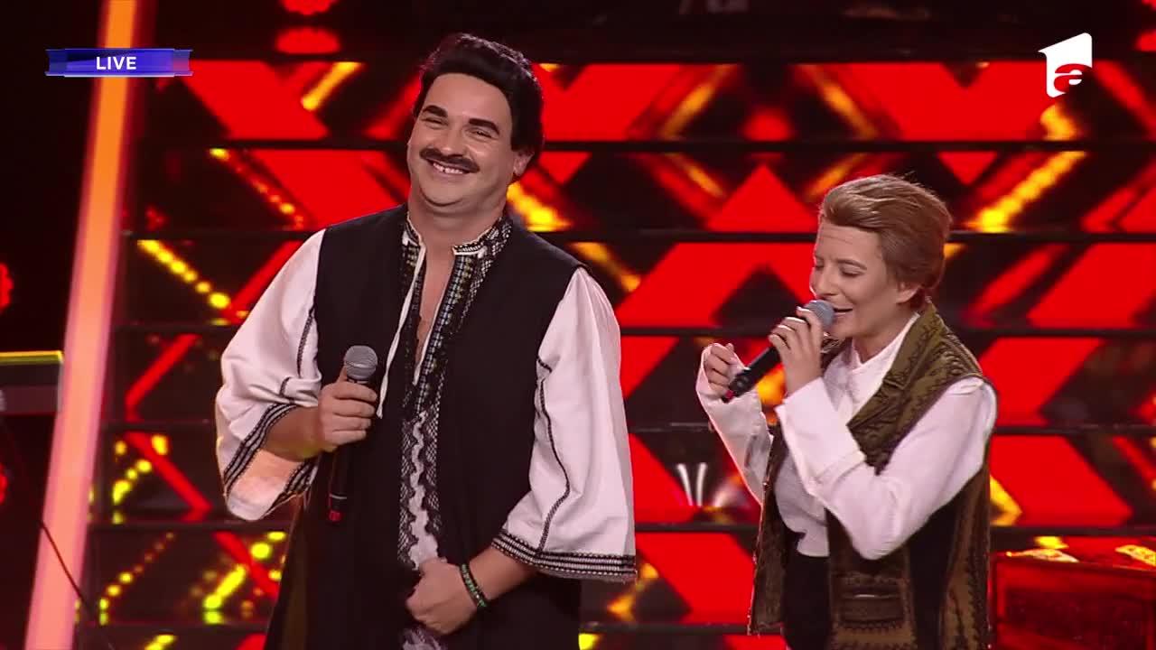 Te cunosc de undeva, 6 februarie 2021. Andrei Ștefănescu și Ana Baniciu sunt Petrică Mâţu Stoian şi Constantin Enceanu