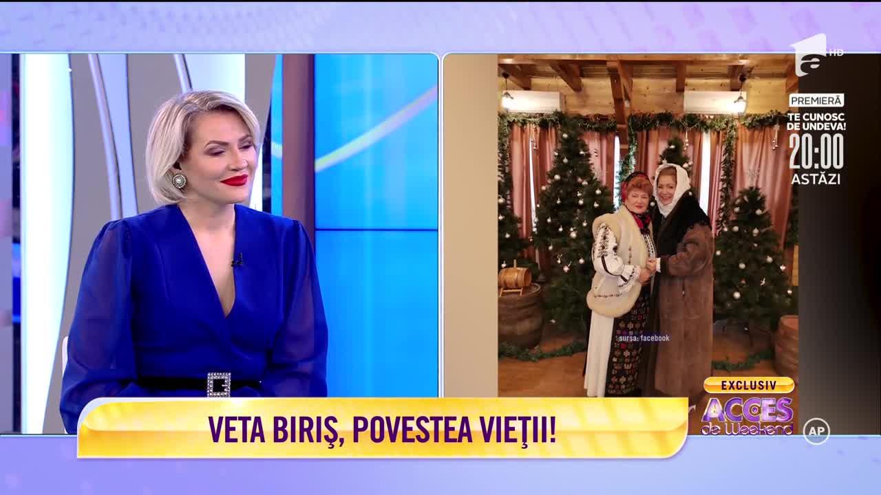 Veta Biriș, povestea vieții