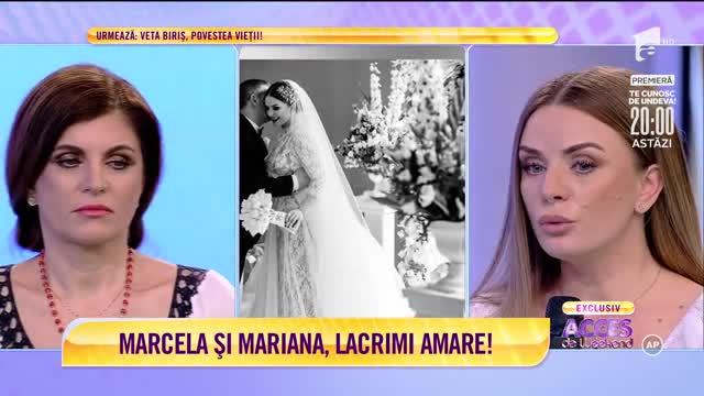 Lacrimi în platoul Acces Direct. Marcela Fota, distrusă de moartea soțului: A căzut din picioare și asta a fost tot