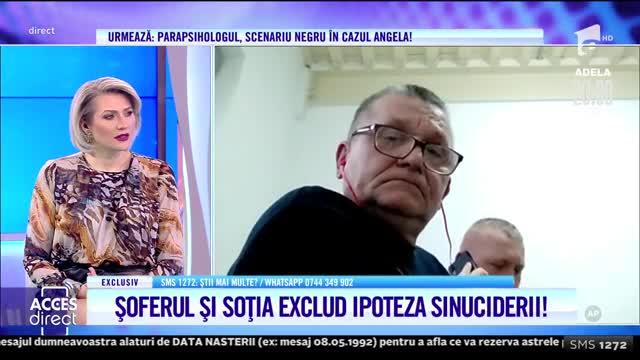 Soția șoferului, întrebări pentru soțul Angelei Balint: Şhhht! Taci!