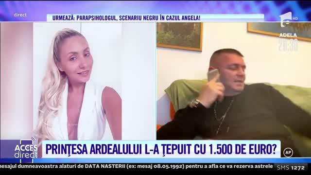Un barbat a fost ţepuit cu 1.500 de euro de către Roxana Prinţesa Ardealului!