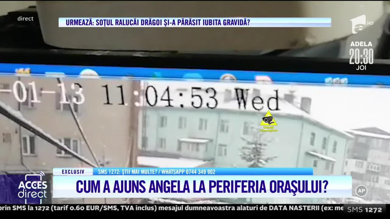 Ultimle imagini cu Angela în viață!