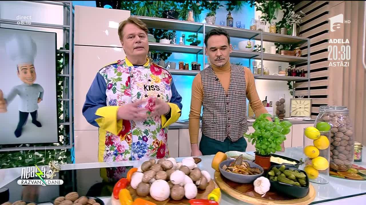 Ciuperci îndrăgostite, rețeta lui Vlăduț de la Neatza cu Răzvan şi Dani