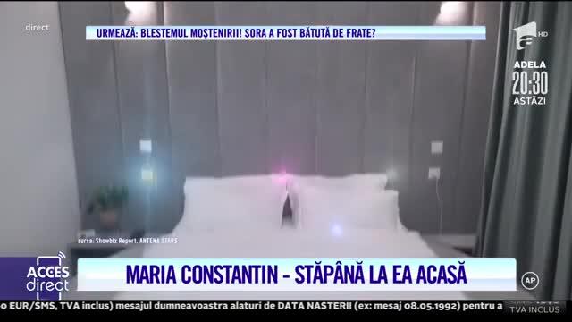 Maria Constantin are o casă de vis!