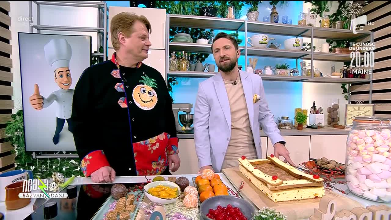 Prăjitura Nu mă uita, rețeta lui Vlăduț de la Neatza cu Răzvan şi Dani
