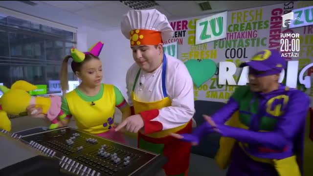 Gaşca Zurli, vizită la locul de muncă al lui Mihai Morar