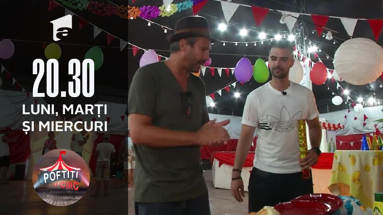 Nea Marin, petrecere surpriză la Poftiți la circ!