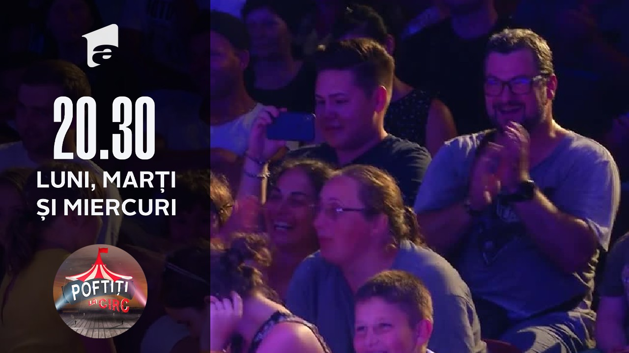 Nea Marin, super show la Poftiți la circ!
