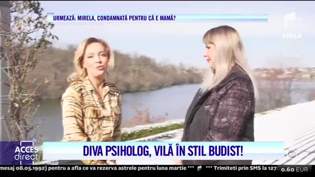 Adriana Petrescu are o vila în stil budist!