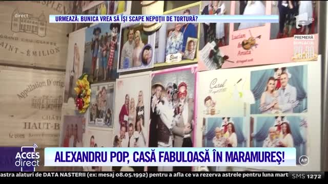 Alexandru Pop, casă fabuloasă în Maramureş!