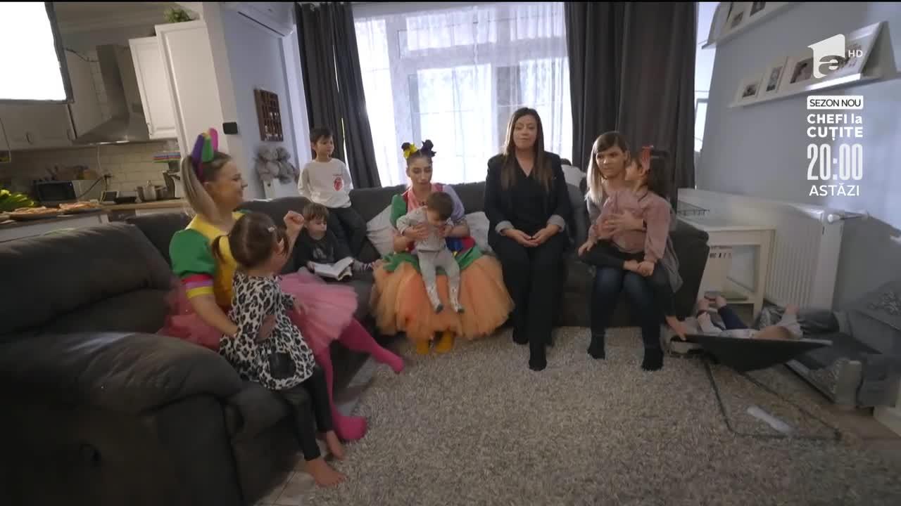 Fetița Zurli și Vrăjimăturica învață ce înseamnă să fii mamă