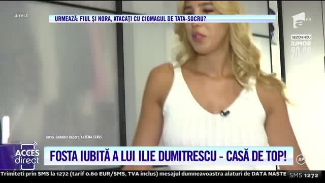 Teodora Vochin, fosta iubită a lui Ilie Dumitrescu, are un trup de invidiat, dar şi un apartament de vis