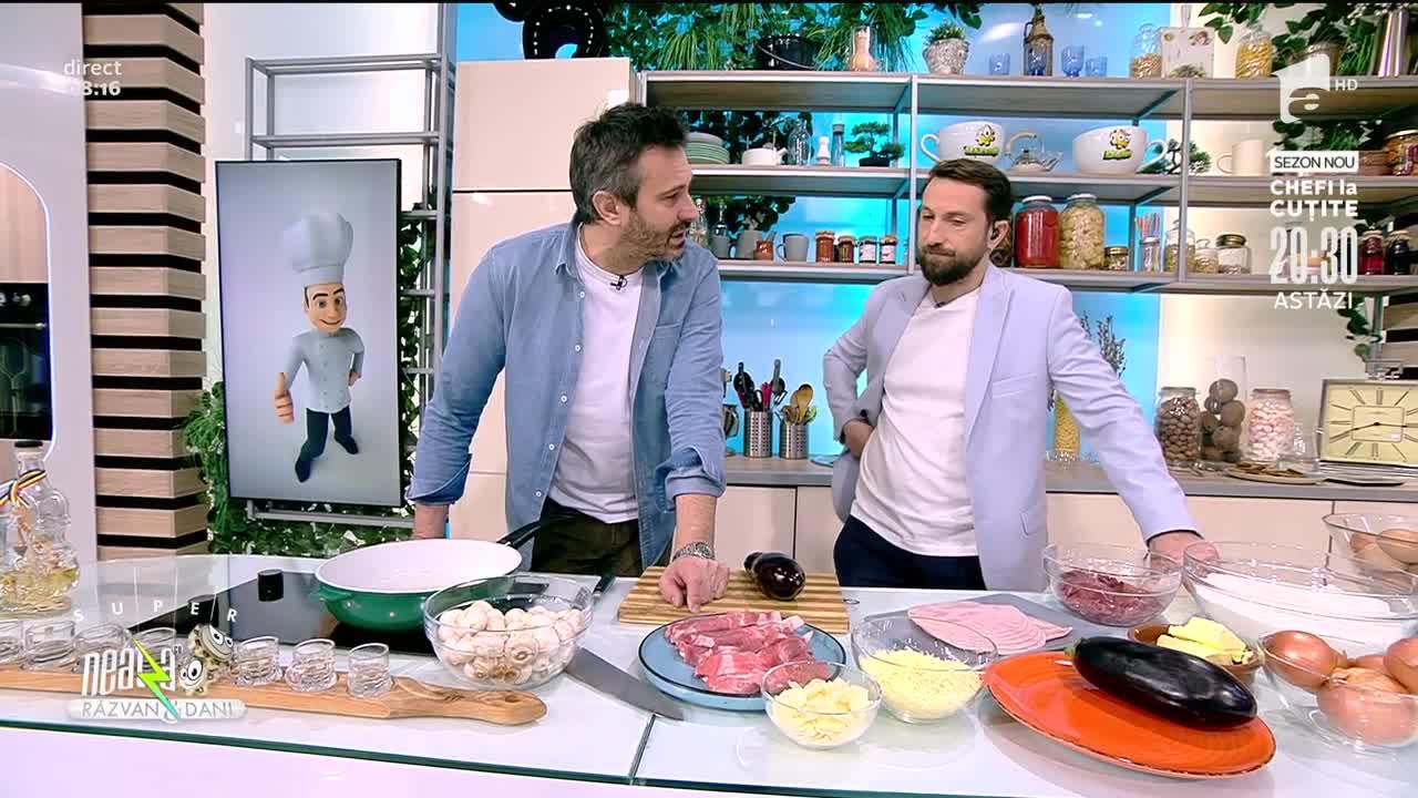 Clătite sărate și gratinate, rețeta lui Chef Nicolai Tand