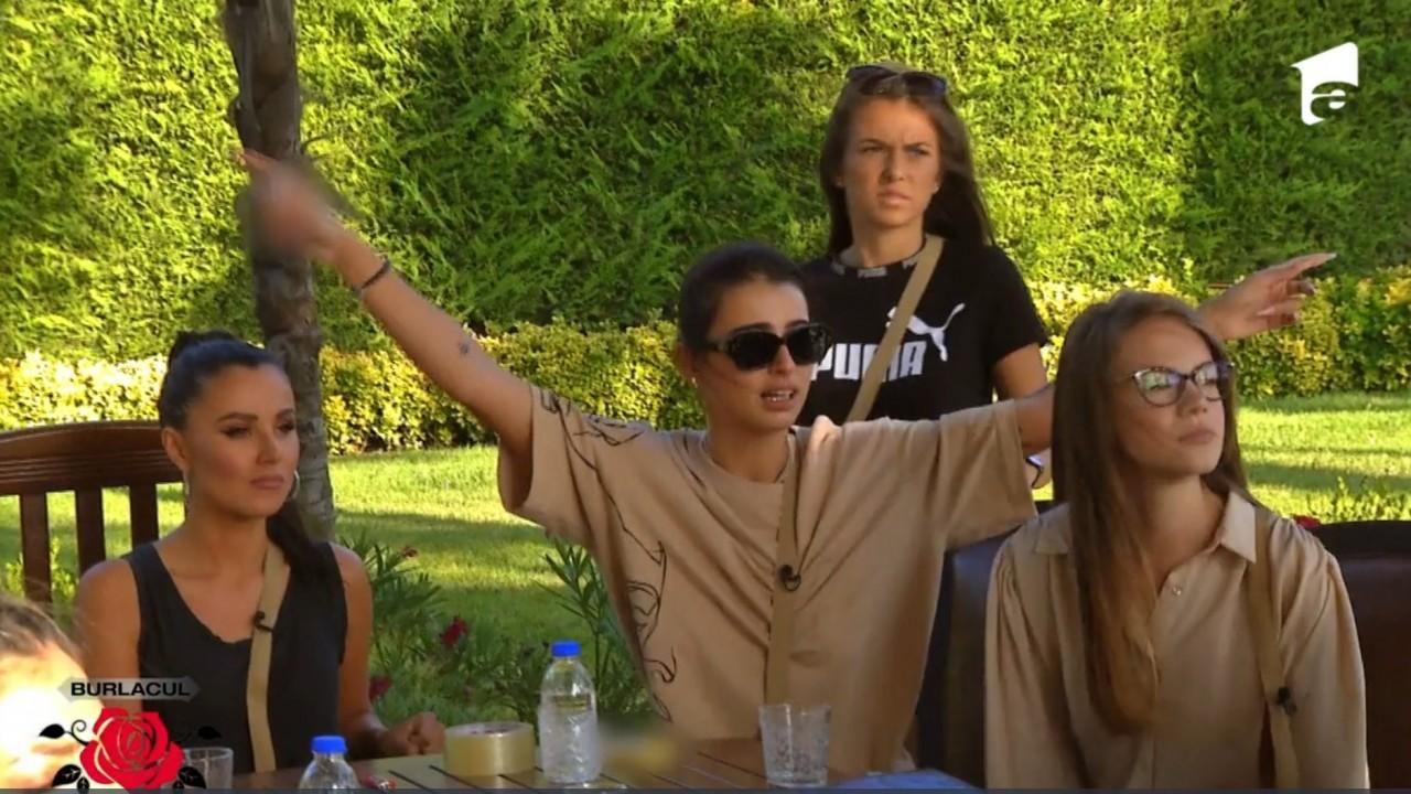 Bianca, gest jignitor la adresa Burlacului! Concurentele sunt contrariate